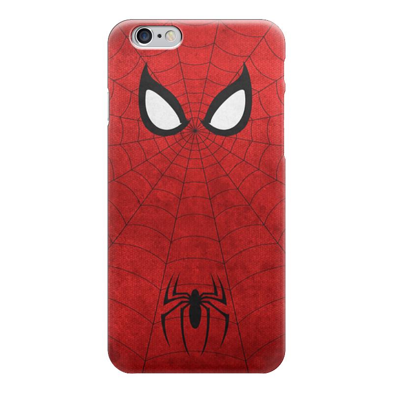 Чехол для iPhone 6 глянцевый Printio Spider man чехол для iphone 6 глянцевый printio человек муравей ant man