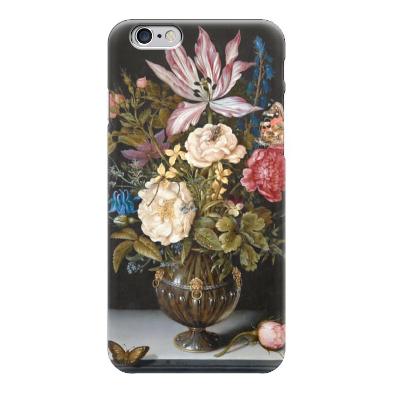 Чехол для iPhone 6 глянцевый Printio Натюрморт с цветами (амброзиус босхарт старший) амброзиус босхарт альбом