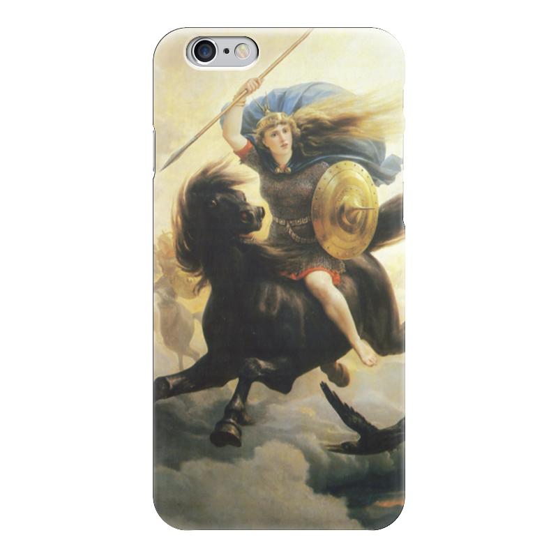 Чехол для iPhone 6 глянцевый Printio Валькирия (петер николай арбо) николай копылов ради женщин