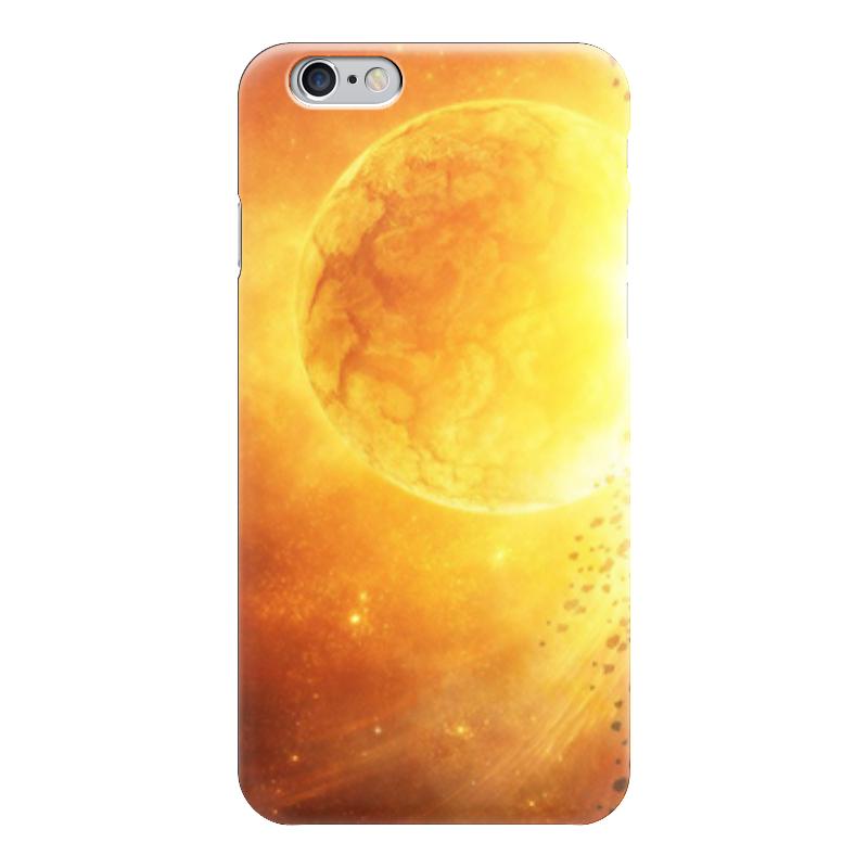 Чехол для iPhone 6 глянцевый Printio The sun увлекательный космос для самых маленьких