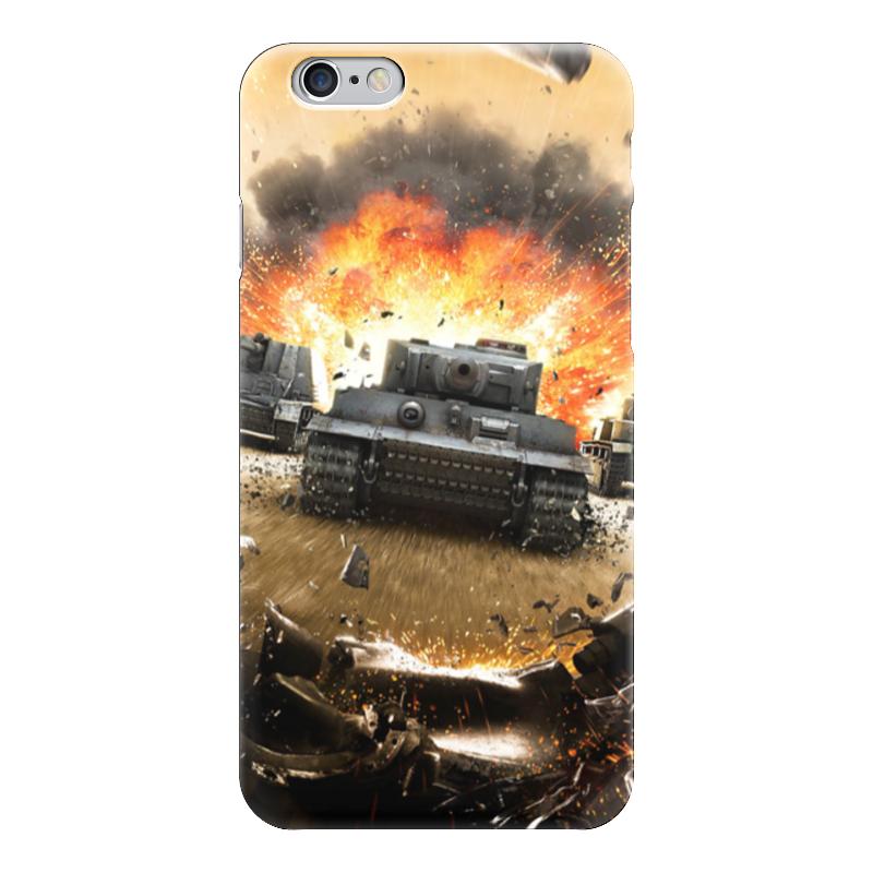 Чехол для iPhone 6 глянцевый Printio Танки (wot) bosch wot 20255
