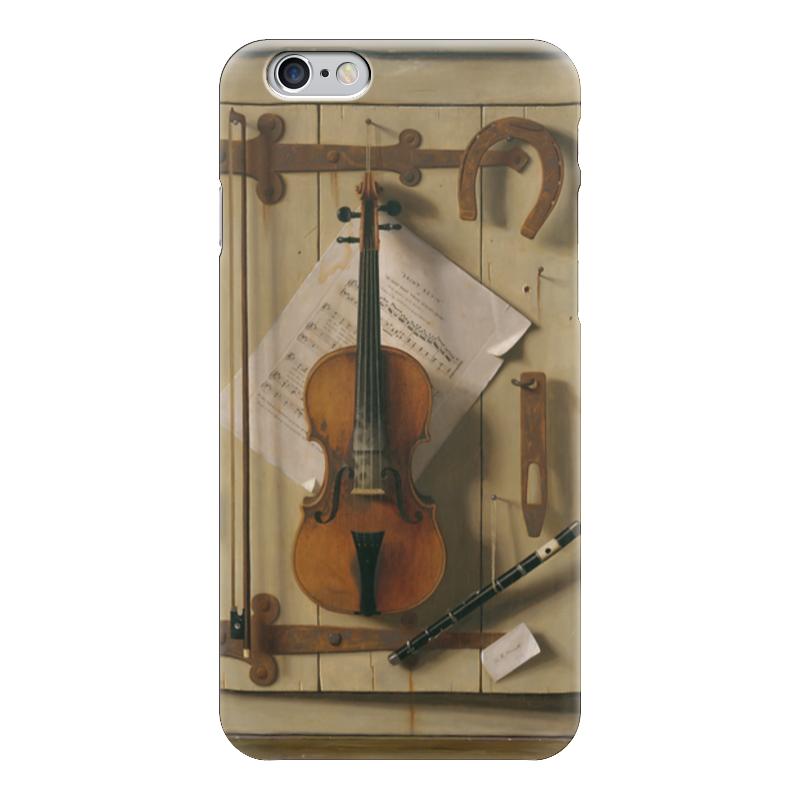 Чехол для iPhone 6 глянцевый Printio Натюрморт со скрипкой (уильям харнетт) чехол для samsung galaxy s5 printio натюрморт со скрипкой уильям харнетт