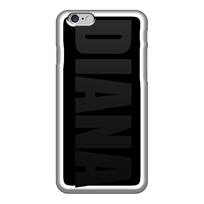 Чехол для iPhone 6 глянцевый Printio С именем диана чехол для iphone 6 глянцевый printio с именем оксана