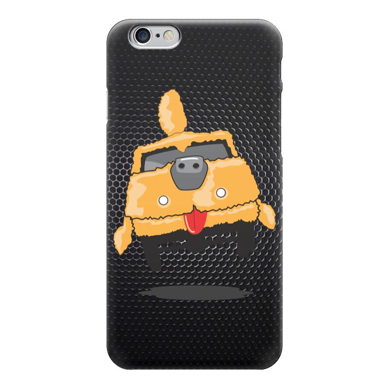 Чехол для iPhone 6 глянцевый Printio Тупой и еще тупее 2