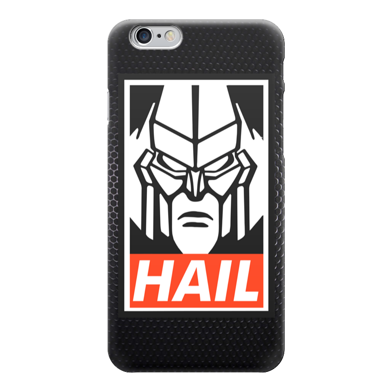 Чехол для iPhone 6 глянцевый Printio Мегатрон (hail) сумка printio мегатрон мегамен