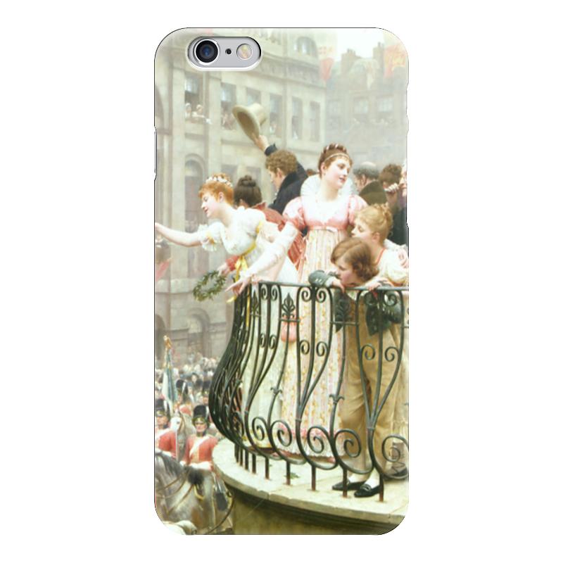 Чехол для iPhone 6 глянцевый Printio 1816 (эдмунд блэр лейтон) электропила patriot es 1816