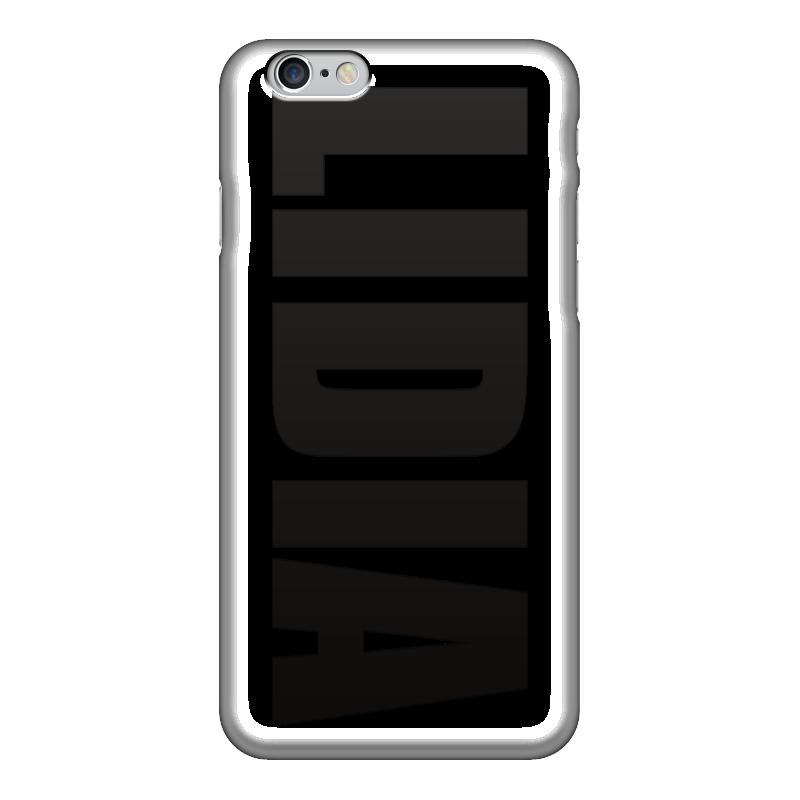 Чехол для iPhone 6 глянцевый Printio С именем лидия лидия орлова подиум