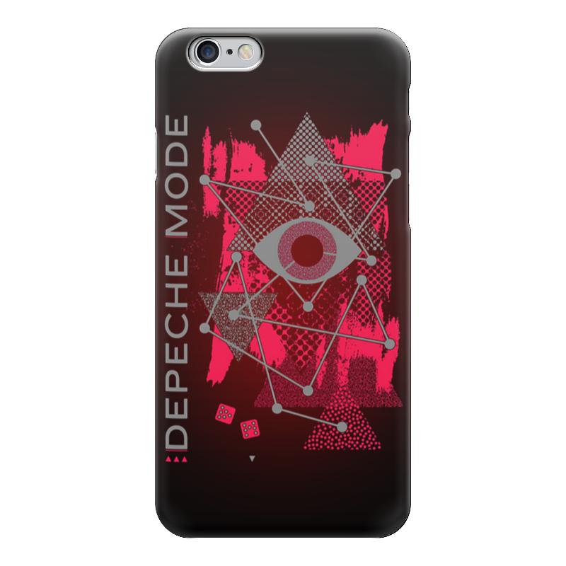 Чехол для iPhone 6 глянцевый Printio Depeche mode чехол для iphone 6 глянцевый printio сад на улице корто сад на монмартре ренуар