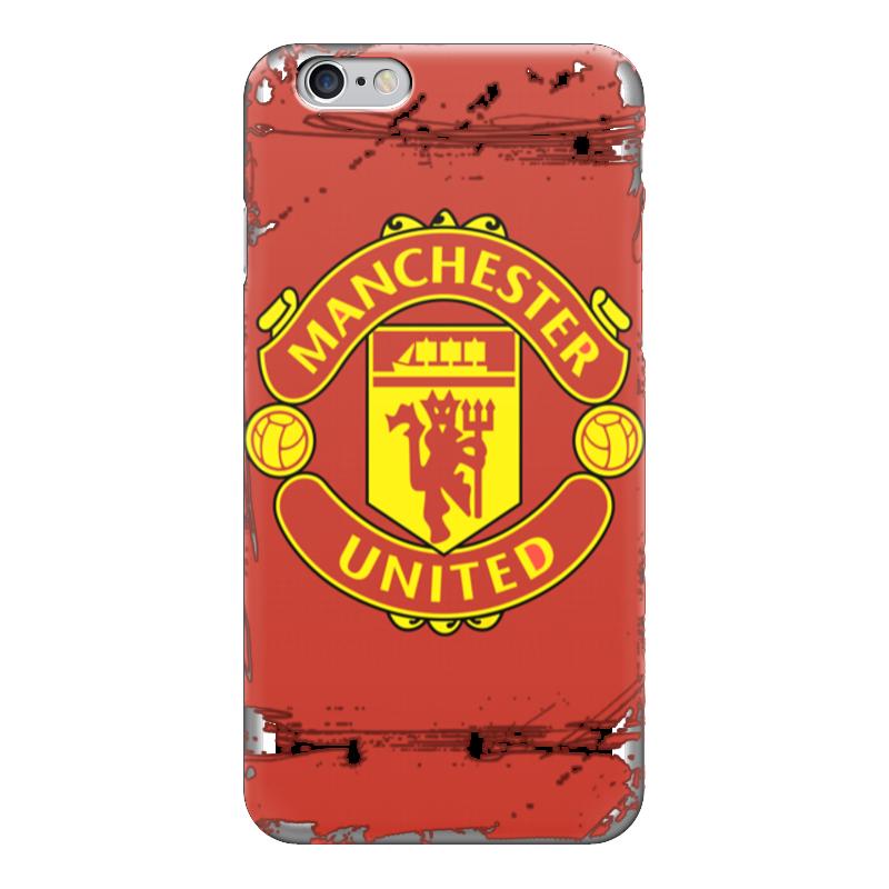 Чехол для iPhone 6 глянцевый Printio Manchester united майка классическая printio manchester united