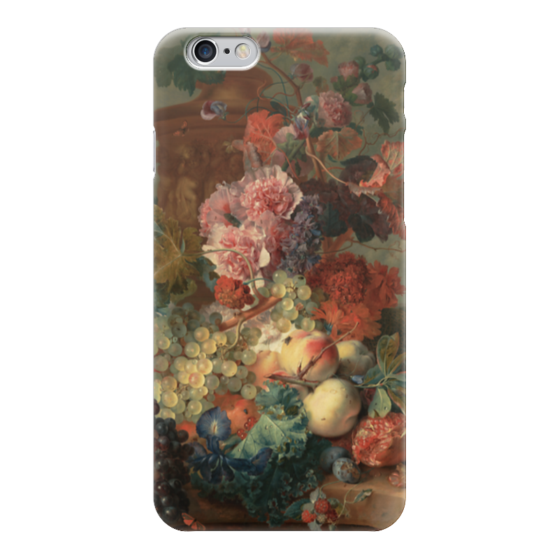 Чехол для iPhone 6 глянцевый Printio Цветы (ян ван хёйсум) чехол для samsung galaxy s5 printio цветы ян ван хёйсум