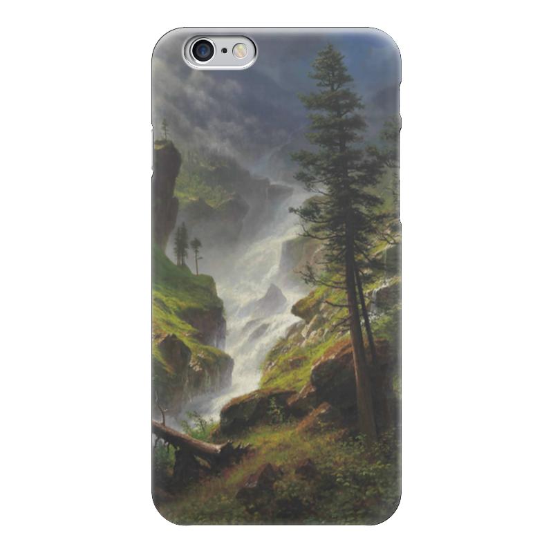 Чехол для iPhone 6 глянцевый Printio Rocky mountain waterfall отзывы he wood rocky mountain wood