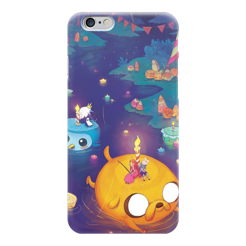 Чехол для iPhone 6 глянцевый Printio Adventure time jake чехол для iphone 6 глянцевый printio adventure time finn and jake