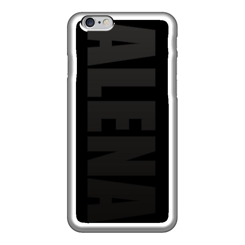 Чехол для iPhone 6 глянцевый Printio С именем алена цена