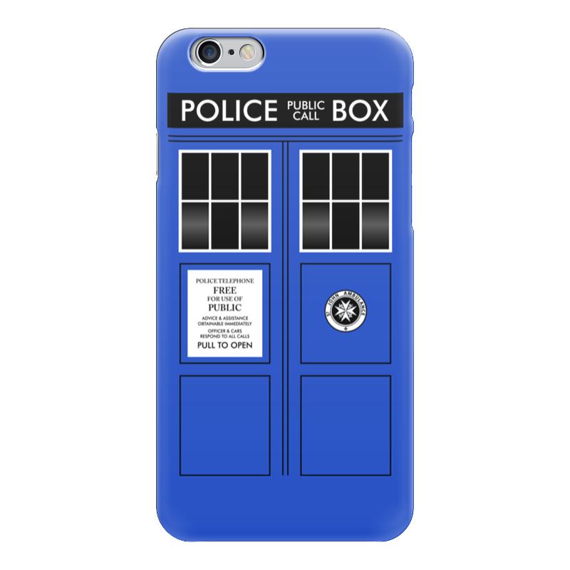 Чехол для iPhone 6 глянцевый Printio Тардис чехол для iphone 6 глянцевый printio time lord doctor who