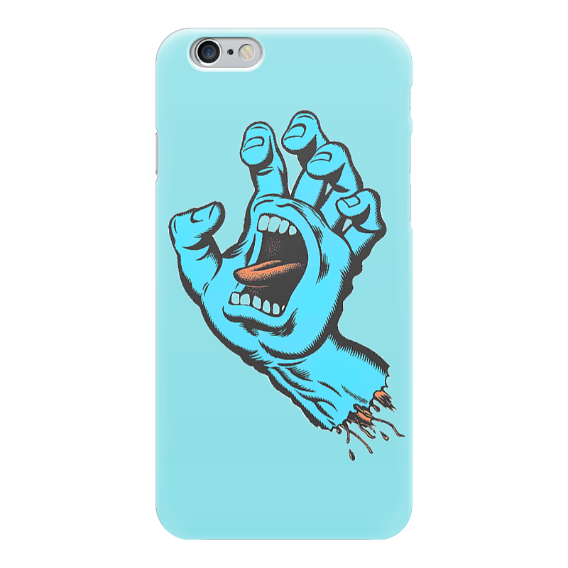 Чехол для iPhone 6 глянцевый Printio Santa cruz футболка santa cruz bone hand athletic heather