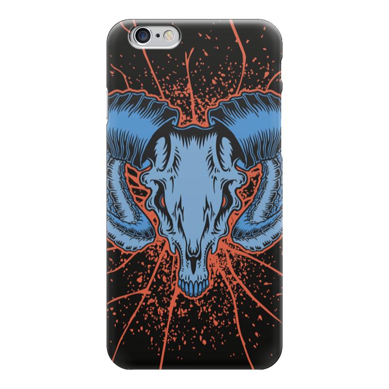 Чехол для iPhone 6 глянцевый Printio Goat skull чехол для iphone 7 глянцевый printio skull art