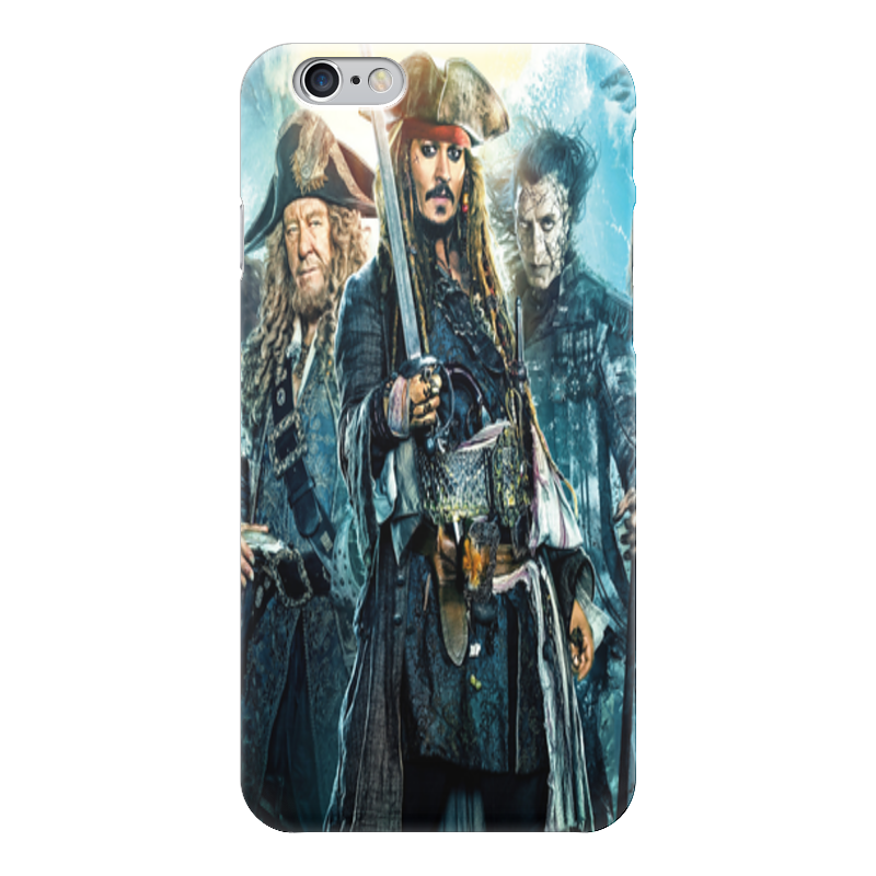 Чехол для iPhone 6 глянцевый Printio «пираты карибского моря». пираты