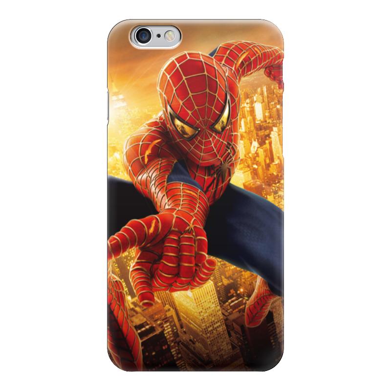 Чехол для iPhone 6 глянцевый Printio Человек - паук чехол для iphone 6 глянцевый printio бабушкин сад