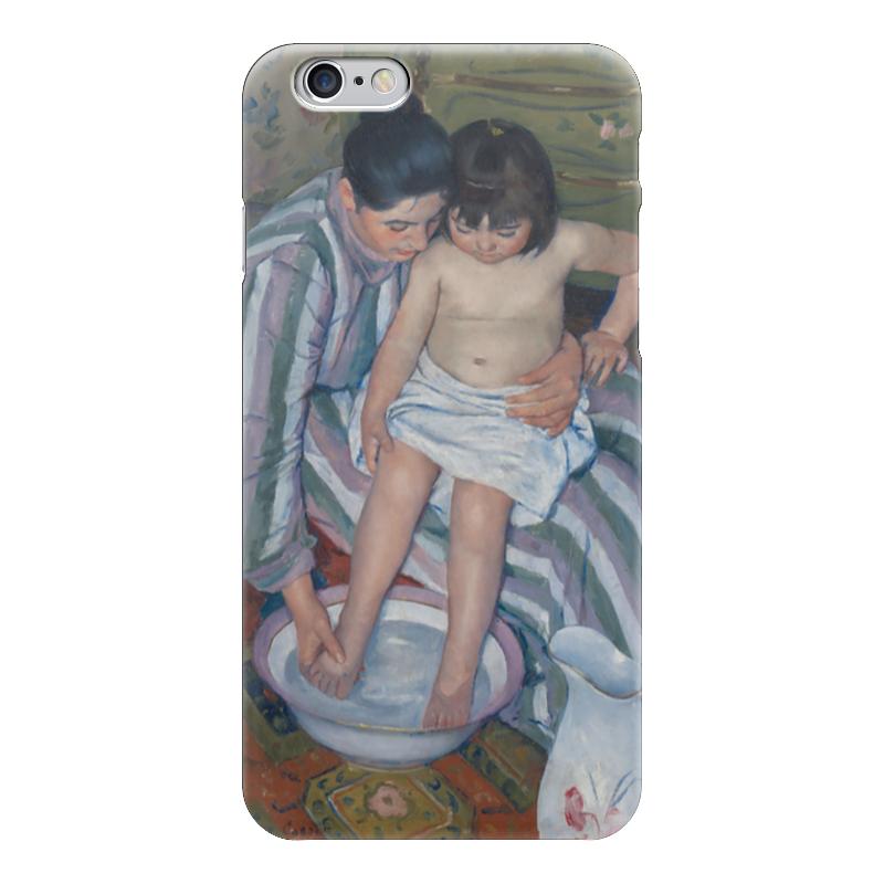 Чехол для iPhone 6 глянцевый Printio Купание ребёнка купание в витаминами 300 мл