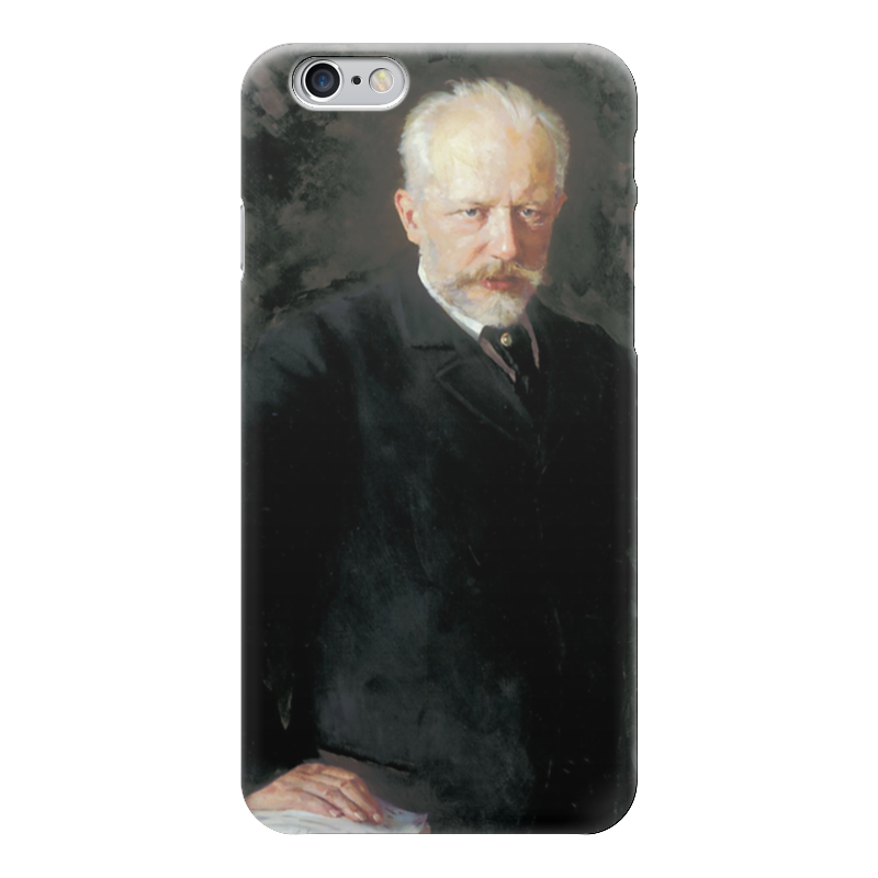 Чехол для iPhone 6 глянцевый Printio Портрет петра ильича чайковского