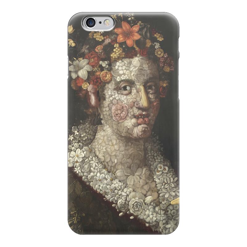Чехол для iPhone 6 глянцевый Printio Флора (джузеппе арчимбольдо) концерт джузеппе верди известный и неизвестный