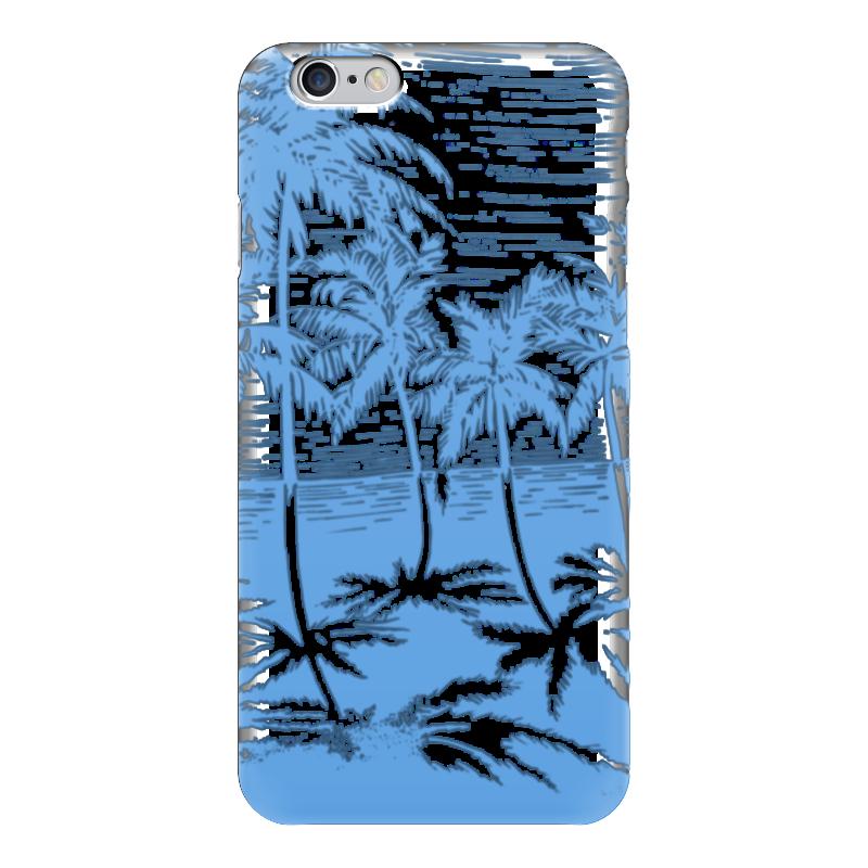 Чехол для iPhone 6 глянцевый Printio Пальмы купить горшок для пальмы большой
