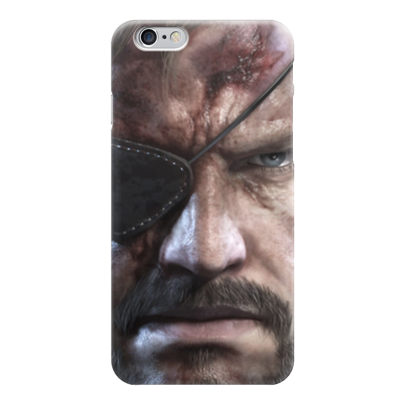 Чехол для iPhone 6 глянцевый Printio Big boss (metal gear solid)