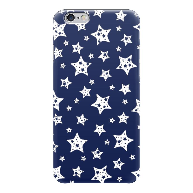 Чехол для iPhone 6 глянцевый Printio Звёзды чехол для карточек пионы на синем фоне дк2017 113