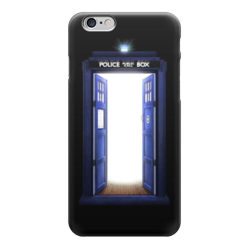 Чехол для iPhone 6 глянцевый Printio Тардис (доктор кто) чехол для iphone 6 глянцевый printio time lord doctor who