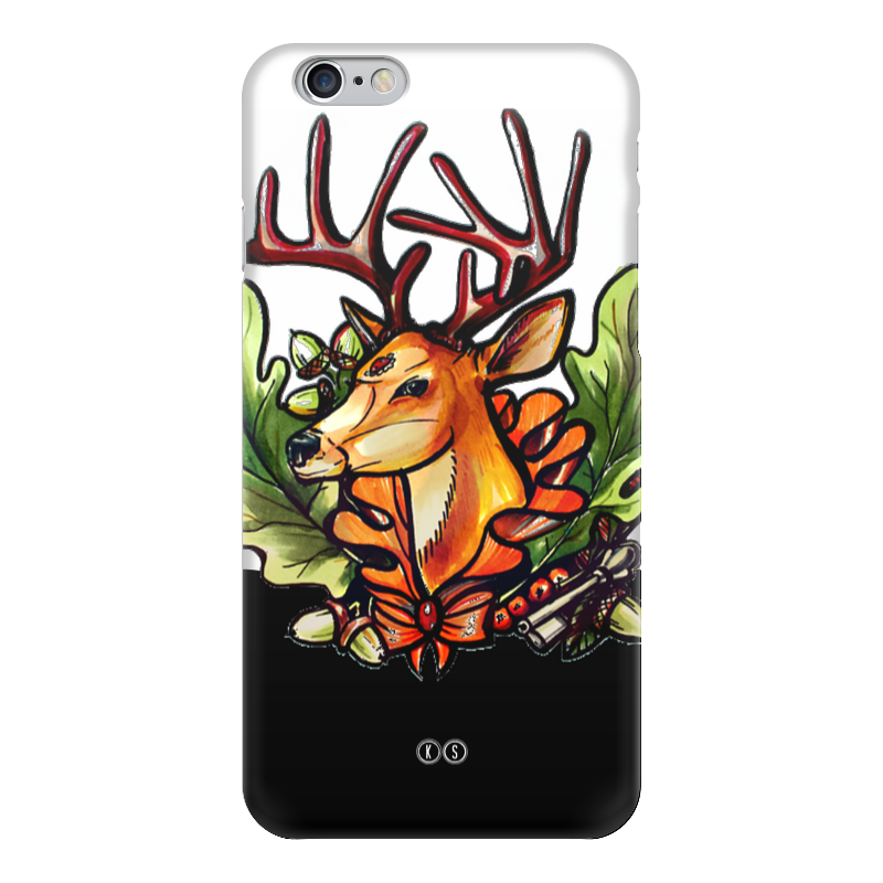 Чехол для iPhone 6 глянцевый Printio Рябина 6 чехол для iphone 6 глянцевый printio красавица и чудовище