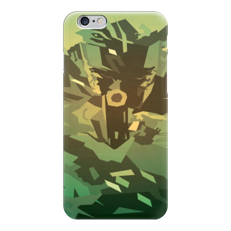 все цены на Чехол для iPhone 6 глянцевый Printio Solid snake (metal gear solid)