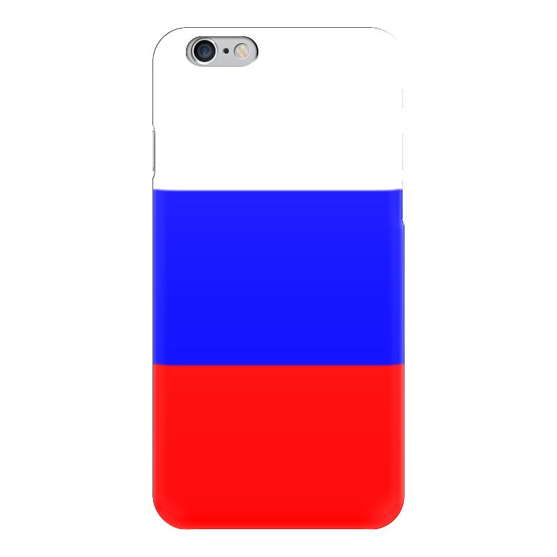 Чехол для iPhone 6 глянцевый Printio Русский флаг чехол для iphone 7 глянцевый printio русский флаг