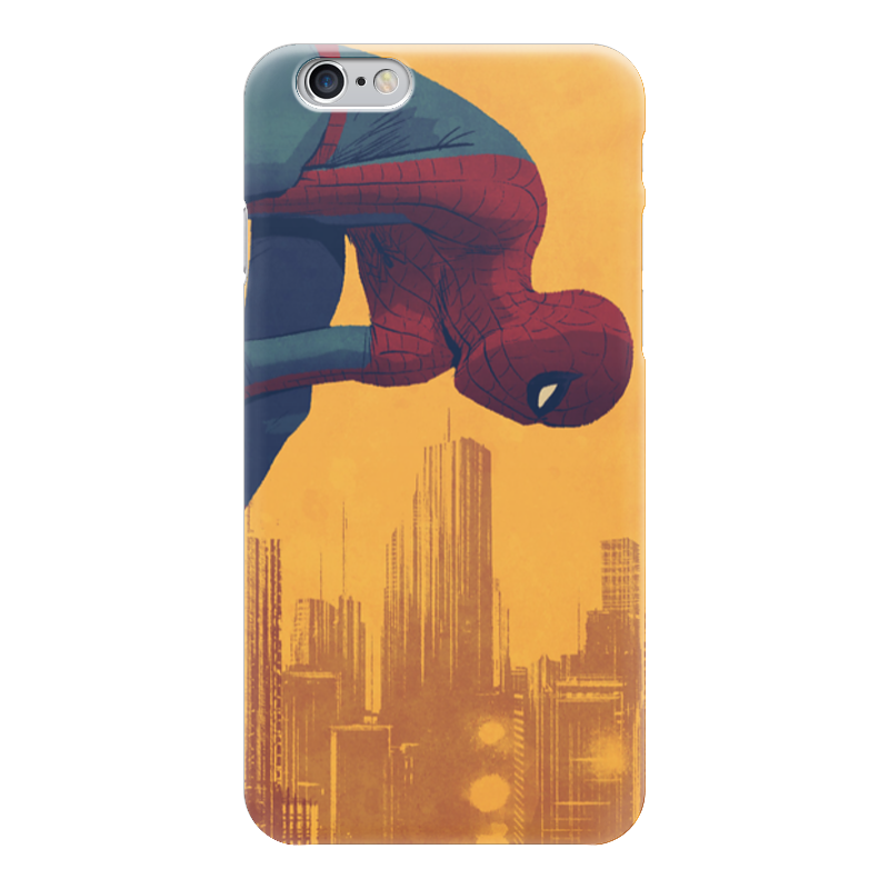 Чехол для iPhone 6 глянцевый Printio Человек-паук arte lamp a9070ap 1ab