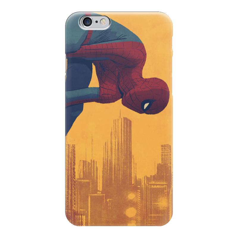 Чехол для iPhone 6 глянцевый Printio Человек-паук самокат ridex 2 х колесный 200 мм stellar мятный серый