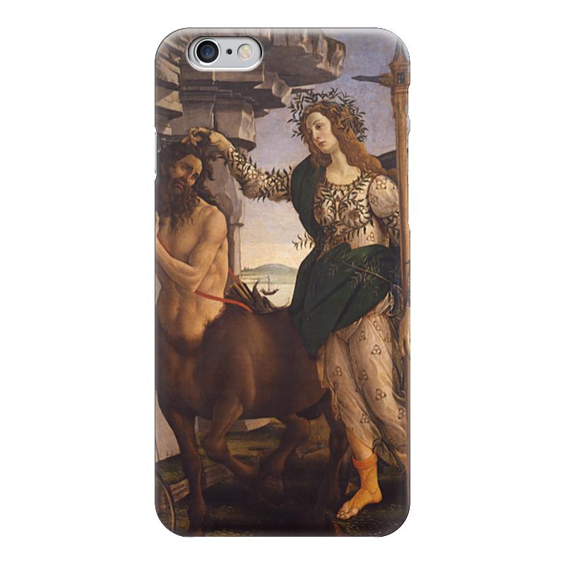 Чехол для iPhone 6 глянцевый Printio Паллада и кентавр (картина боттичелли) колычев в кентавр или отпусти браткам грехи