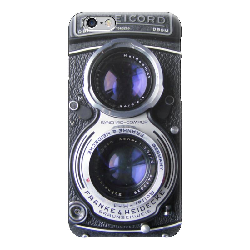 Чехол для iPhone 6 глянцевый Printio Rolleicord (фотоаппарат) чехол для iphone 7 глянцевый printio фотоаппарат