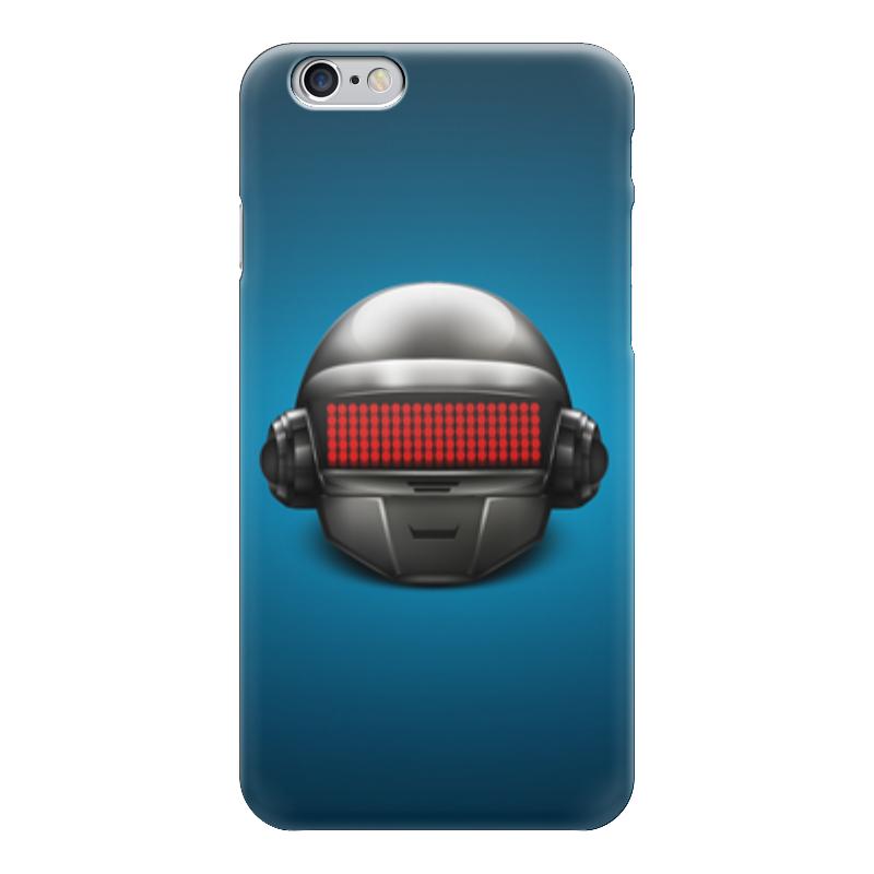 Чехол для iPhone 6 глянцевый Printio Daft punk валентин пикуль николаевские монте кристо