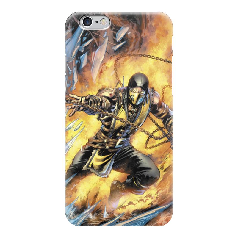 Чехол для iPhone 6 глянцевый Printio Mortal kombat