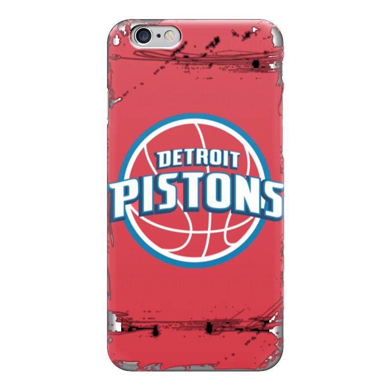 Чехол для iPhone 6 глянцевый Printio Detroit pistons чехол для iphone 5 глянцевый с полной запечаткой printio red wings detroit