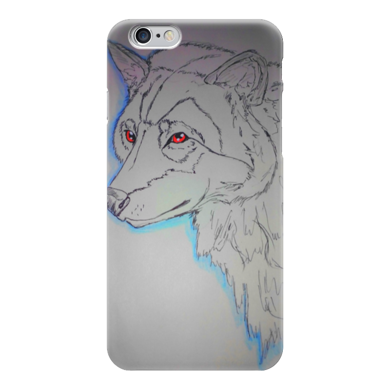 Чехол для iPhone 6 глянцевый Printio Волк/wolf lone wolf and cub omni vol 6