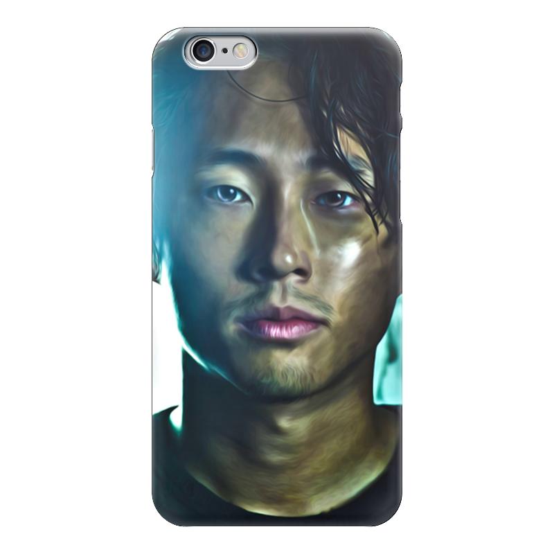 Чехол для iPhone 6 глянцевый Printio The walking dead | glenn худи print bar the walking dead