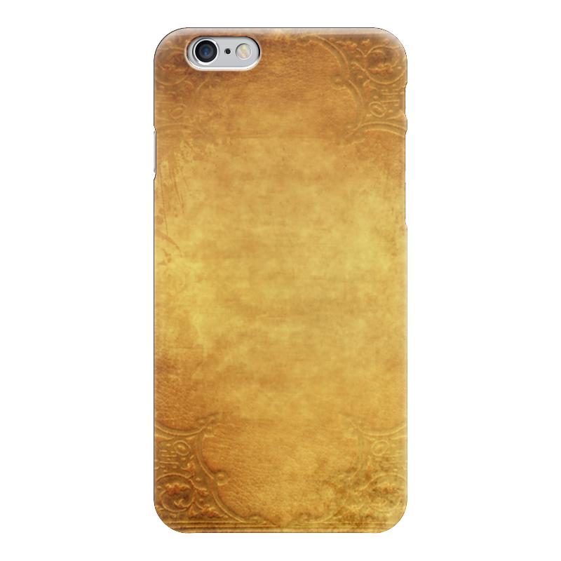 Чехол для iPhone 6 глянцевый Printio Желтое золото