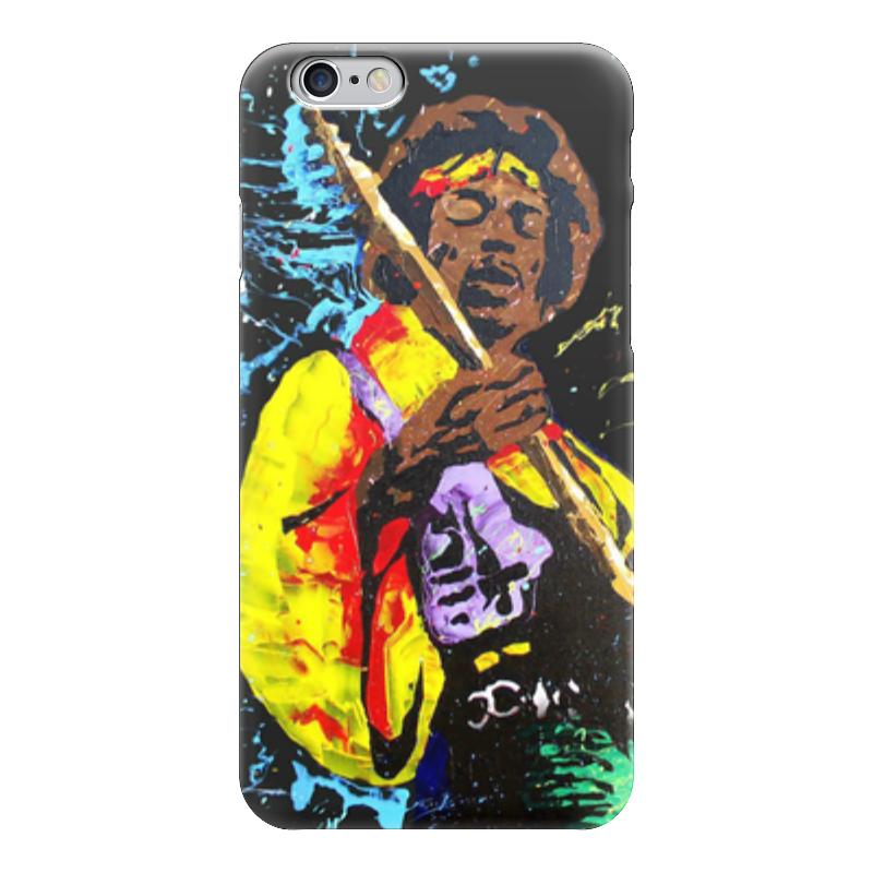 Чехол для iPhone 6 глянцевый Printio Джими хендрикс (jimi hendrix) цена