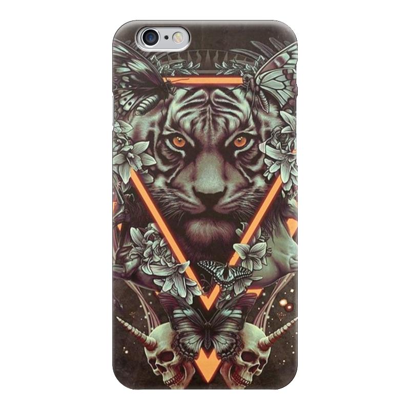 Чехол для iPhone 6 глянцевый Printio Арт тигр пазл 360 арт терапия тигр 02349