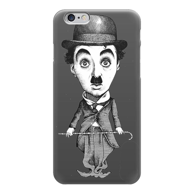 Чехол для iPhone 6 глянцевый Printio Charlie chaplin who was charlie chaplin