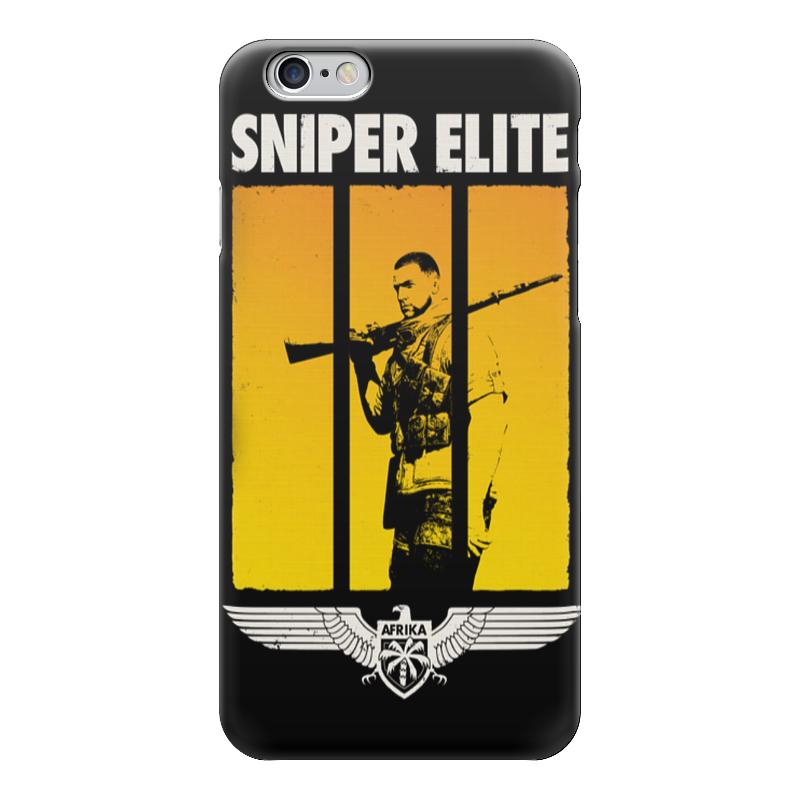 Чехол для iPhone 6 глянцевый Printio Sniper аксессуар катушка marsmd sniper для f2 f4