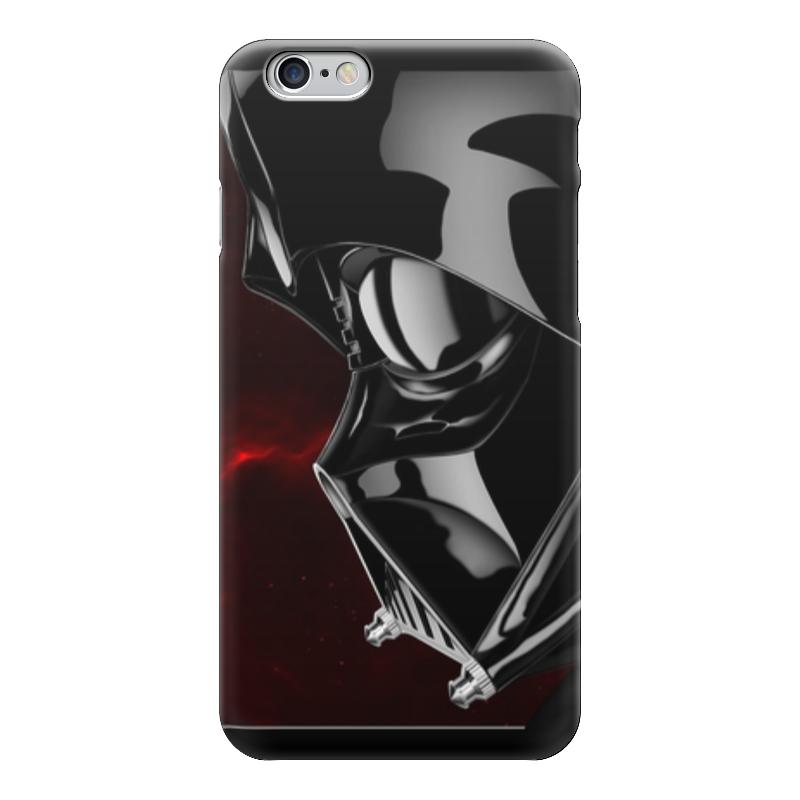 Чехол для iPhone 6 глянцевый Printio Дарт вейдер (звездные войны) чехол для iphone 6 глянцевый printio звездные войны star wars