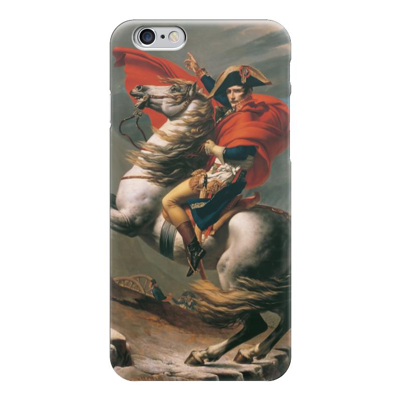 Чехол для iPhone 6 глянцевый Printio Наполеон на перевале сен-бернар (жак-луи давид)