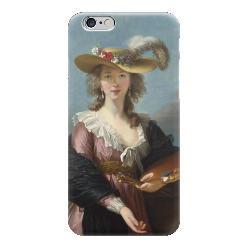 Чехол для iPhone 6 глянцевый Printio Автопортрет в соломенной шляпке (виже-лебрён) чехол для iphone 6 глянцевый printio молодая женщина в соломенной шляпе