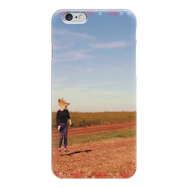 Чехол для iPhone 6 глянцевый Printio Flying fox обои в сургуте где фото